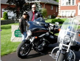 Motorcycle Friendly Tucked Inn The Harbour B and B